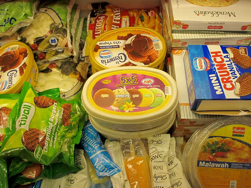kosher frozen products